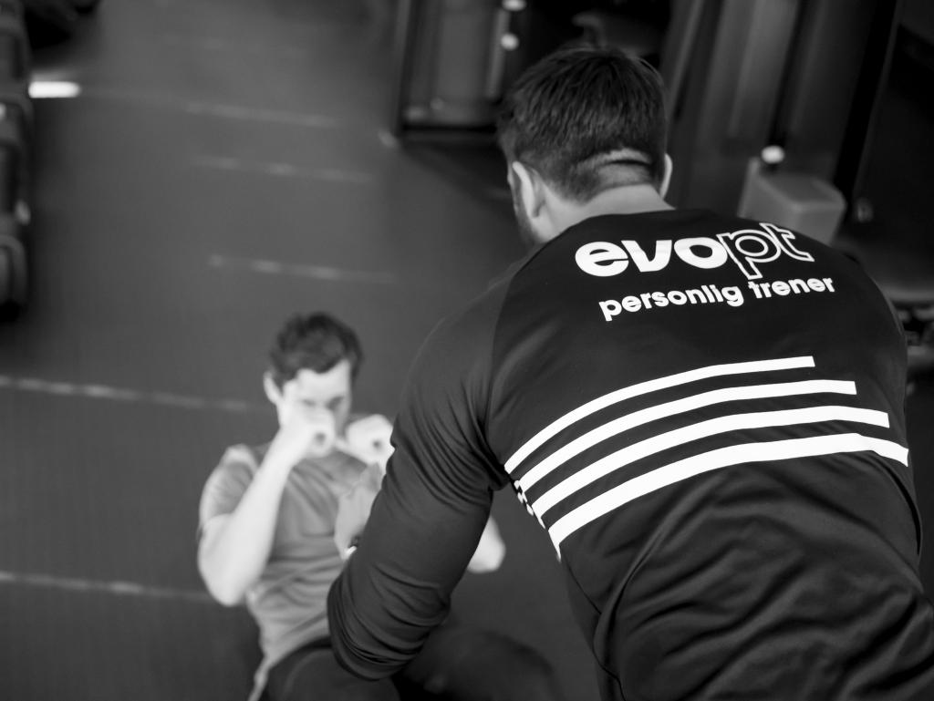 PT trener kunde hos EVO